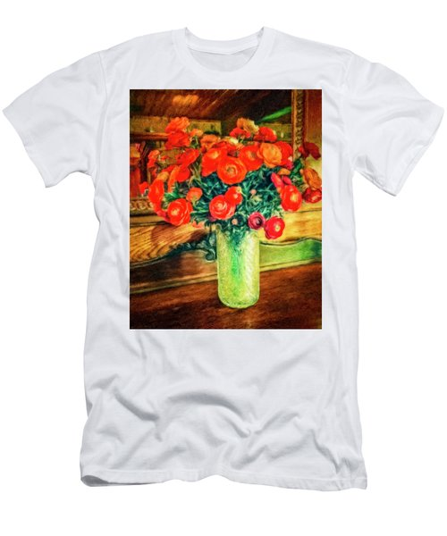 Billy's Flowers Men's T-Shirt (Athletic Fit)