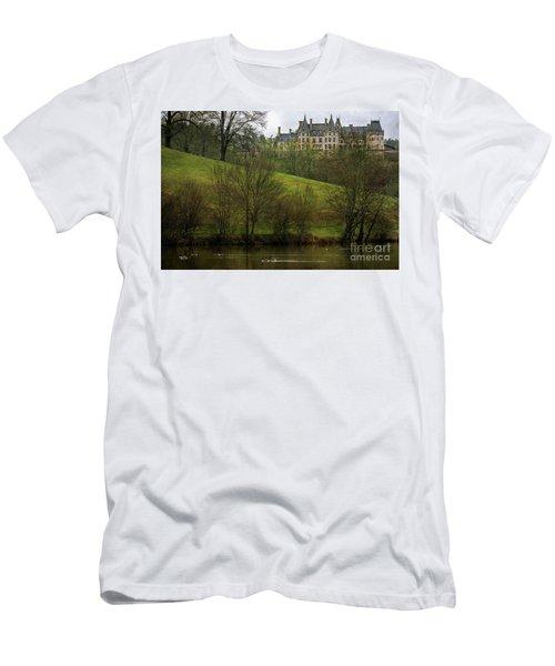 Biltmore Estate At Dusk Men's T-Shirt (Athletic Fit)