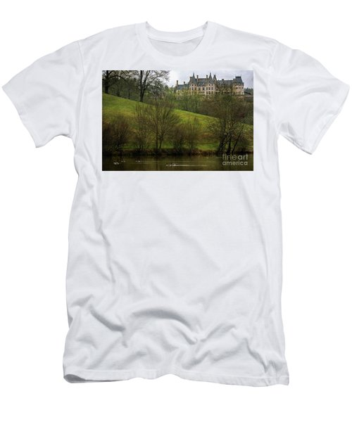 Biltmore Estate At Dusk Men's T-Shirt (Athletic Fit)