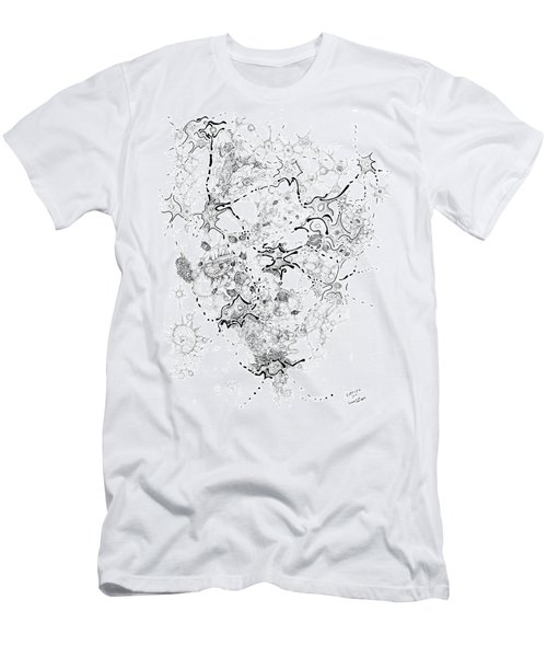Biology Of An Idea Men's T-Shirt (Slim Fit) by Regina Valluzzi