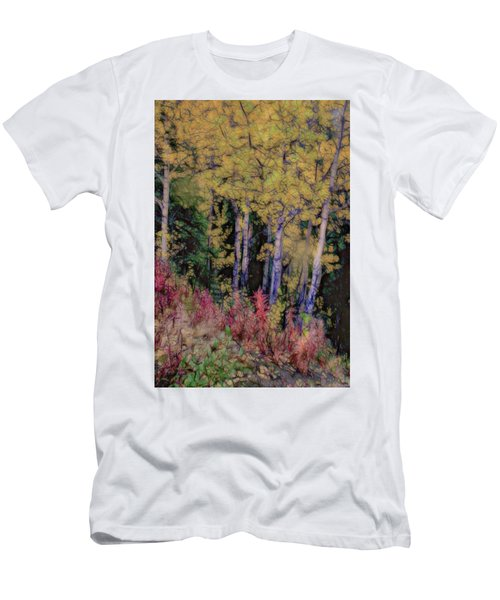 Birches At The Perch #1 Men's T-Shirt (Athletic Fit)