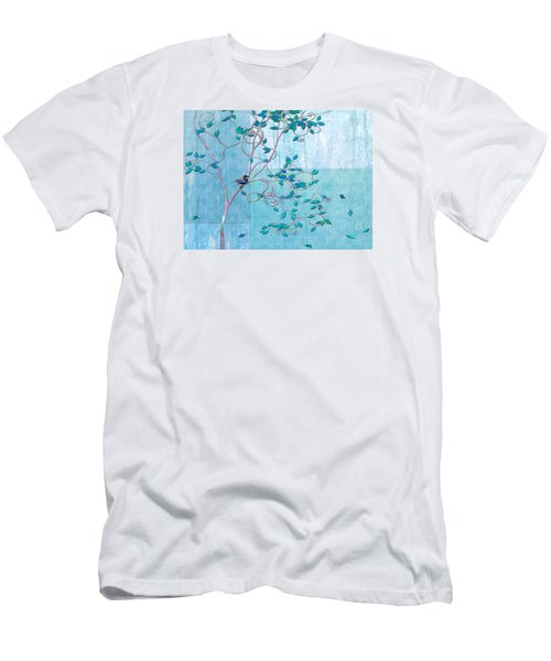 Bird In A Tree-1 Men's T-Shirt (Athletic Fit)