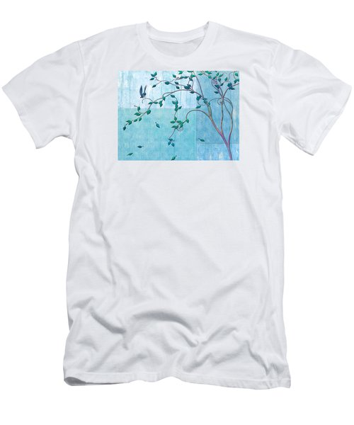 Bird In A Tree-2 Men's T-Shirt (Athletic Fit)