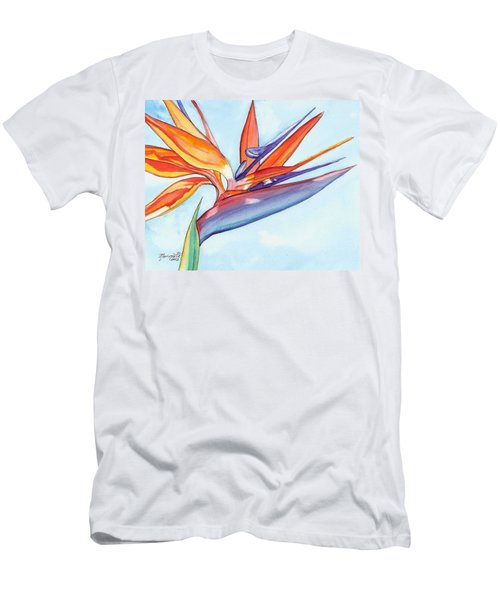 Bird Of Paradise IIi Men's T-Shirt (Athletic Fit)