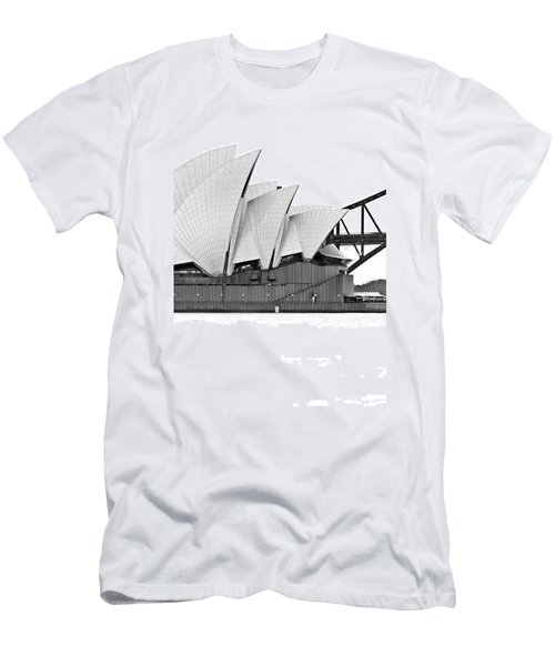 Bird On The Harbour Men's T-Shirt (Athletic Fit)