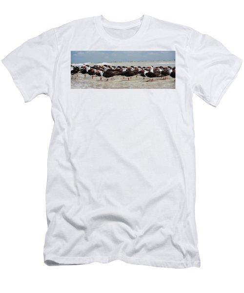 Bird Party Men's T-Shirt (Athletic Fit)