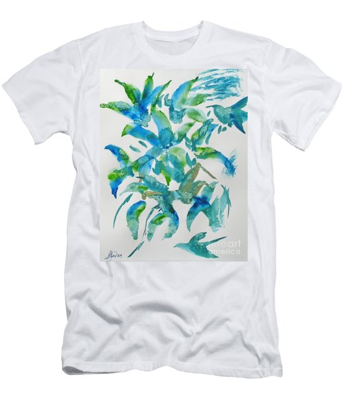 Birds And Blooms Men's T-Shirt (Athletic Fit)