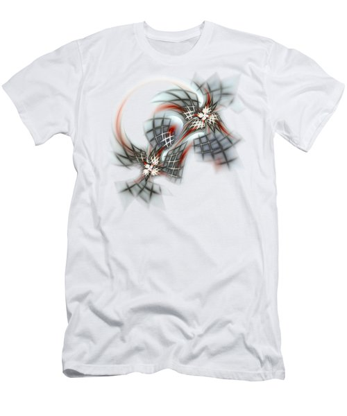 Birds And Cages Men's T-Shirt (Athletic Fit)