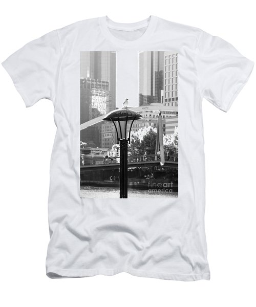 Birds Eye View Of The City Men's T-Shirt (Athletic Fit)