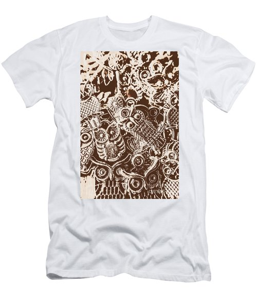 Birds From The Old World Men's T-Shirt (Athletic Fit)