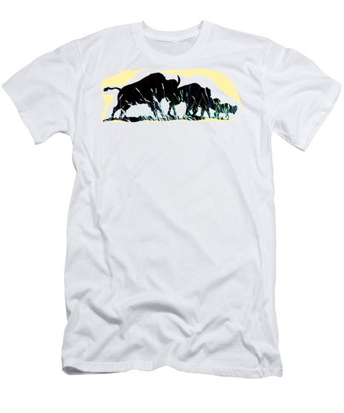 Bison Prairie Run Men's T-Shirt (Athletic Fit)