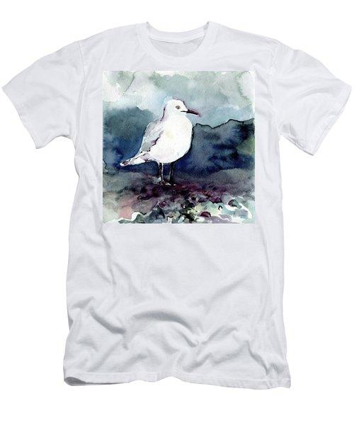 Black-billed Gull Men's T-Shirt (Athletic Fit)