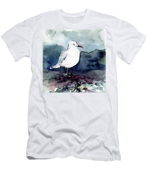 Black-billed Gull Men's T-Shirt (Athletic Fit)