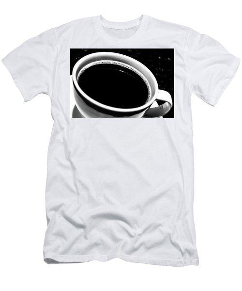 Black Coffee Men's T-Shirt (Athletic Fit)