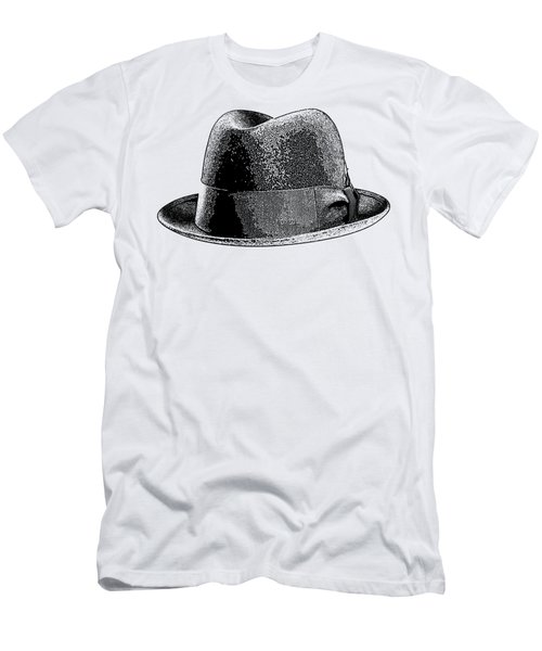 Black Hat T-shirt Men's T-Shirt (Athletic Fit)