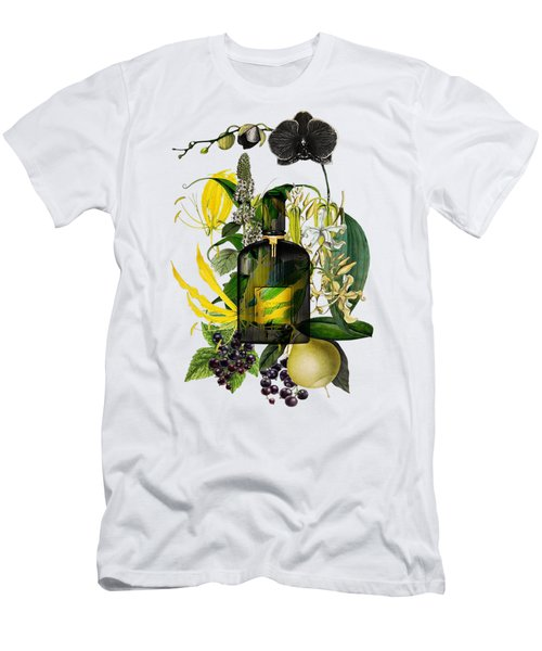 Black Orchid Notes - By Diana Van Men's T-Shirt (Athletic Fit)