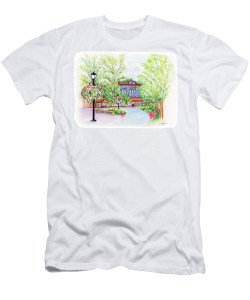Black Sheep On The Plaza Men's T-Shirt (Athletic Fit)