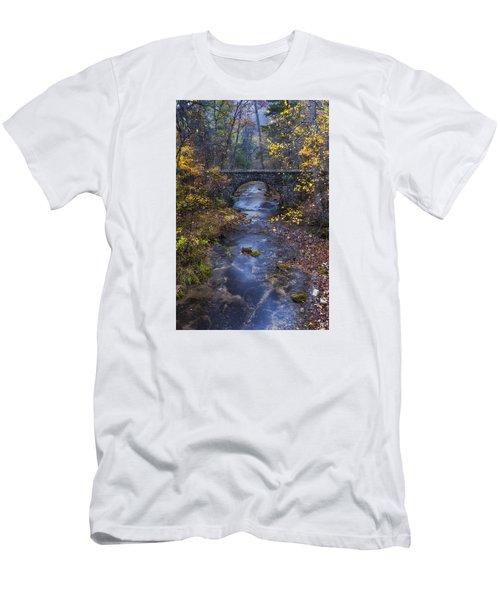 Blanchard Stone Bridge Men's T-Shirt (Athletic Fit)