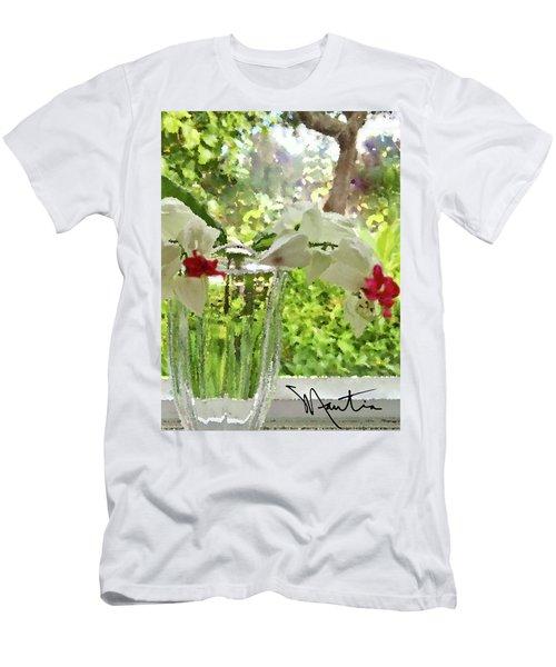Bleeding Hearts Painted Rocks Men's T-Shirt (Athletic Fit)