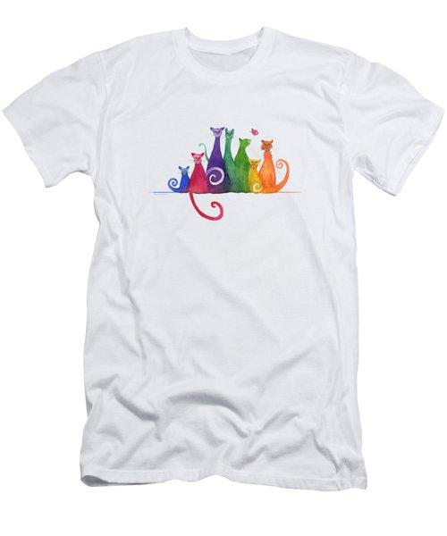 Blended Family Of Seven Men's T-Shirt (Athletic Fit)