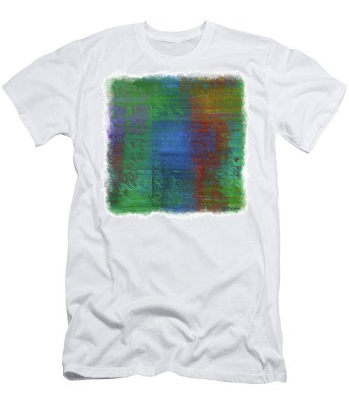 Blended Reflections Vertical Bands Men's T-Shirt (Athletic Fit)