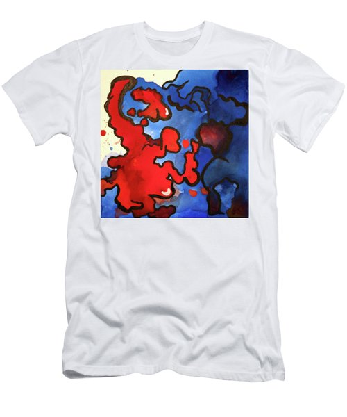 Blood In The Water 3 Of 4 Men's T-Shirt (Athletic Fit)