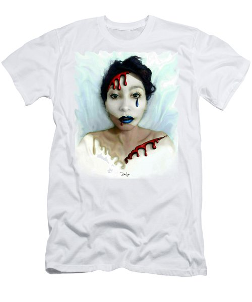 Blood Sweat Tears Faced Men's T-Shirt (Athletic Fit)