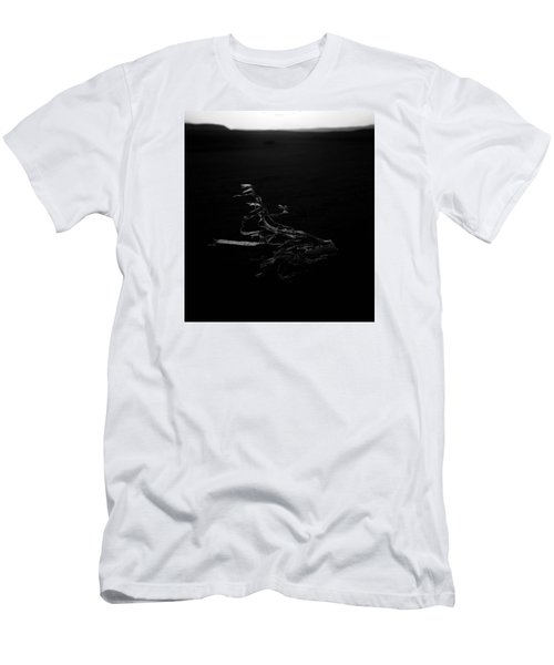 Men's T-Shirt (Slim Fit) featuring the photograph blow away England  by Jez C Self