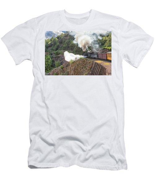 Blowing Down 481 Men's T-Shirt (Athletic Fit)