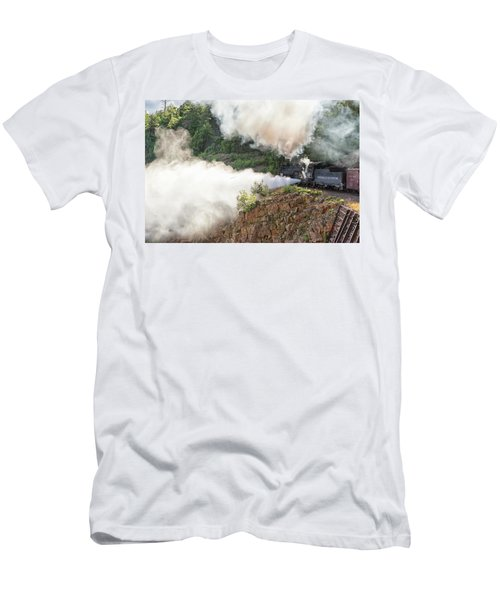 Blowing Off Steam Men's T-Shirt (Athletic Fit)