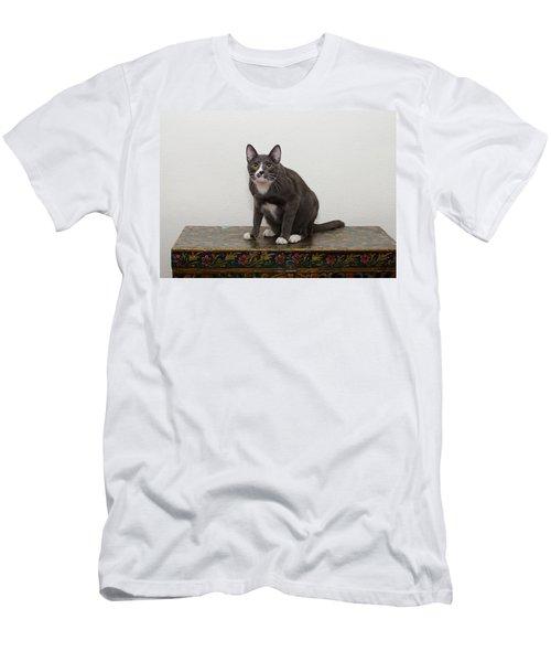 Blue 1 Men's T-Shirt (Athletic Fit)