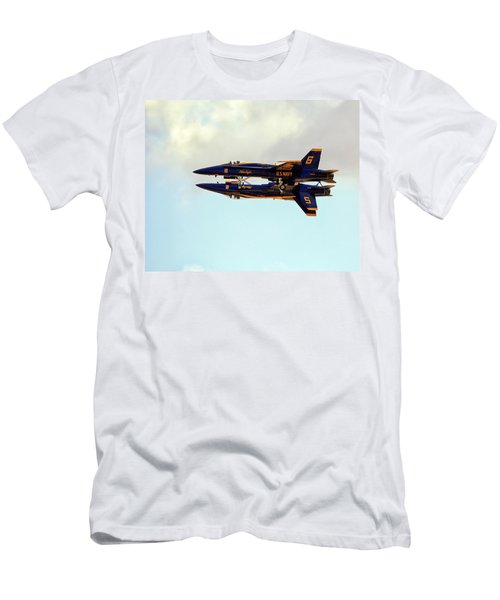 Men's T-Shirt (Athletic Fit) featuring the photograph Blue Angels 1 by Gigi Ebert