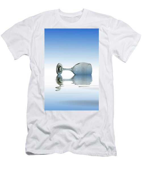 Blue Glass Men's T-Shirt (Slim Fit) by David French