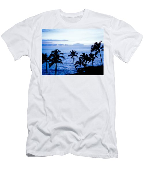Blue Hawaii Men's T-Shirt (Athletic Fit)