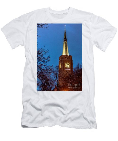 Blue Hour Steeple Men's T-Shirt (Athletic Fit)