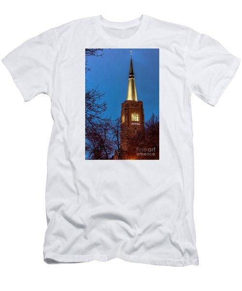 Blue Hour Steeple Men's T-Shirt (Athletic Fit)