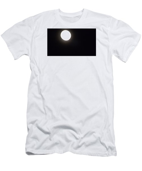 Men's T-Shirt (Slim Fit) featuring the photograph Blue Moon In July by Don Koester