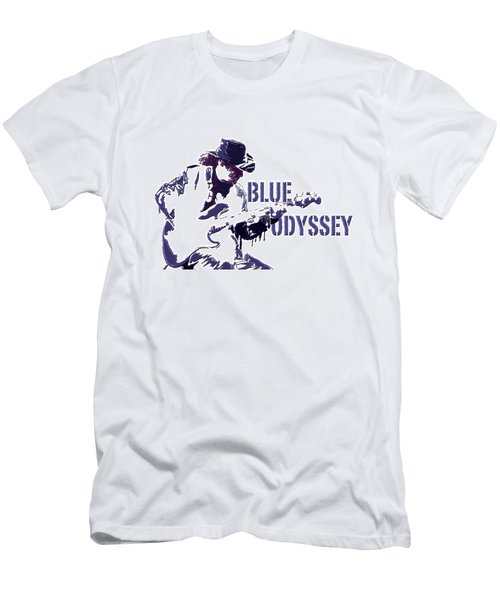 Blue Odyssey Men's T-Shirt (Athletic Fit)