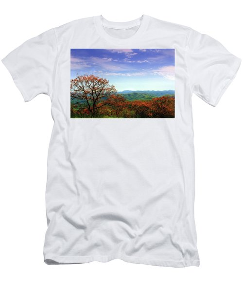 Men's T-Shirt (Slim Fit) featuring the photograph Blue Ridge Blessing by Jessica Brawley