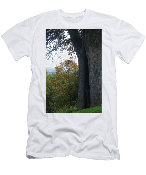Blue Ridge Parkway Tree Men's T-Shirt (Athletic Fit)