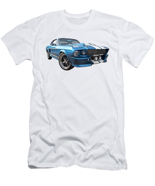 Blue Skies Cruising - 1967 Eleanor Mustang Men's T-Shirt (Athletic Fit)