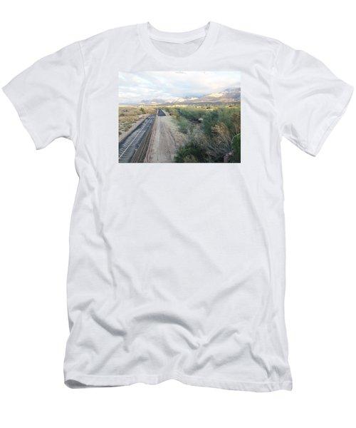 Blue Sky Men's T-Shirt (Athletic Fit)