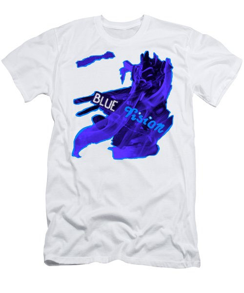 Blue Vision Men's T-Shirt (Athletic Fit)