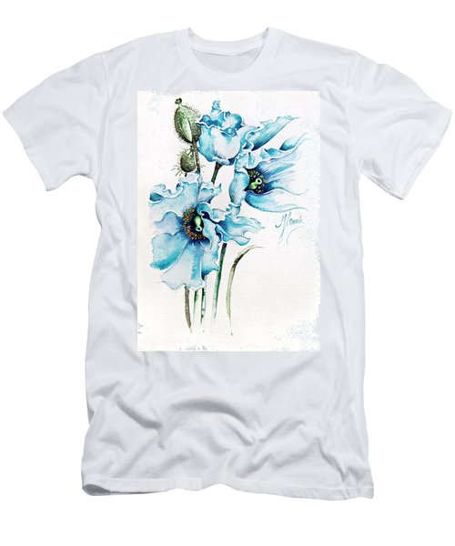 Blue Wind Men's T-Shirt (Slim Fit) by Anna Ewa Miarczynska