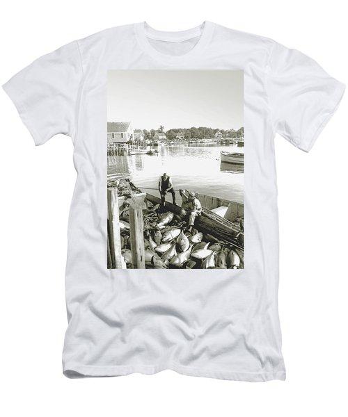 Bluefin Tuna At Barnstable Harbor Men's T-Shirt (Athletic Fit)