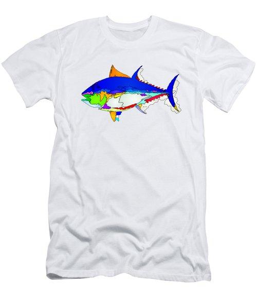 Bluefin Tuna  Men's T-Shirt (Slim Fit) by Rafael Salazar
