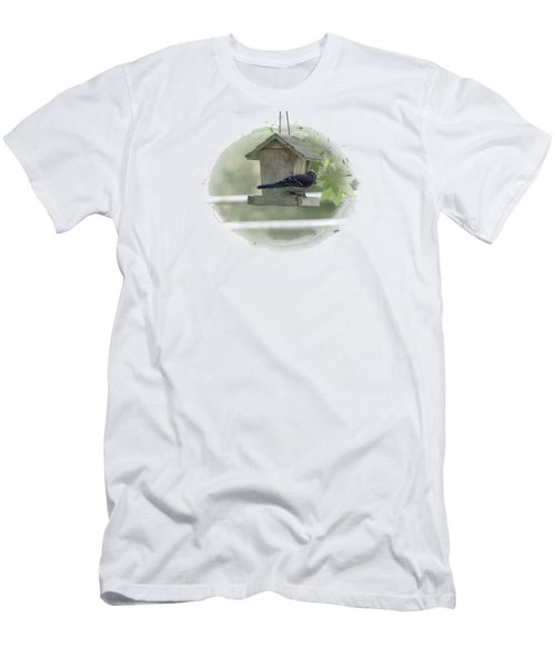 Bluejay Men's T-Shirt (Athletic Fit)