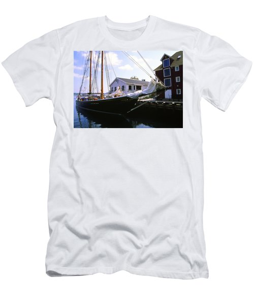 Bluenose II At Historic Properties Halifax Nova Scotia Men's T-Shirt (Athletic Fit)