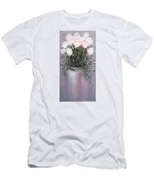 Blush - Original Artwork Men's T-Shirt (Athletic Fit)