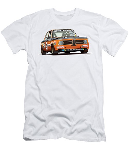 Bmw 2002 Alpina Illustration Men's T-Shirt (Athletic Fit)